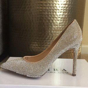 Akira Selina-33 diamond sexy heel pump size 8